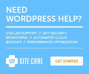 WordPress Support & Site Management